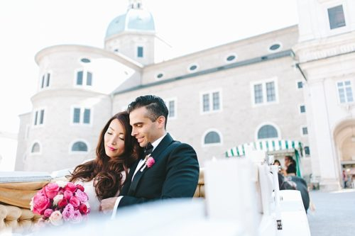 bridal couple wedding planner salzburg
