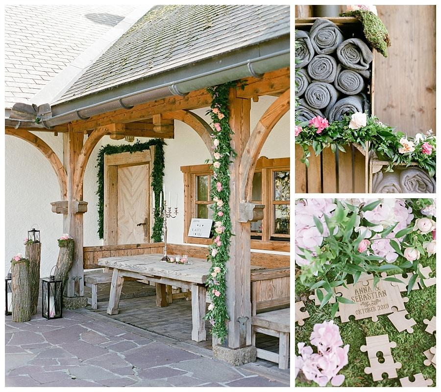 Hochzeit Laimer Urschlag Dekoration