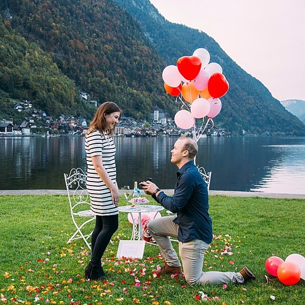 surprise proposal hallstatt